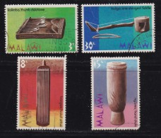 MALAWI, 1973, Used  Stamp(s), Traditional Music Instruments, 203-206,  #4668 - Malawi (1964-...)