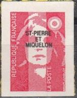 Saint-Pierre & Miquelon 1993 Yvert 590 Neuf ** Cote (2015) 1.90 Euro Marianne Du Bicentenaire - Neufs