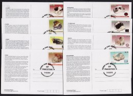 PAKISTAN MAXIMUM CARD 2014 - Gems & Minerals Of Pakistan, Complete Set Of 8 Cards ** - Minerals