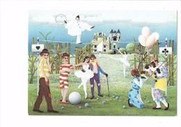 Spectacle Cirque Blasnavski Maskenball Fancy-dress Ball Bal Masqué Clown Funambule Pierrot Dessin Carte à Jouer Tefle - Cirque