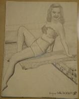 Dessin Au Crayon-Illustrateur -Virginia Patton Actrice  (3) - Dessins
