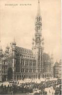 CPA-1907-BELGIQUE-BRUXELLES-HOTEL DE VILLE--TBE - Monuments, édifices