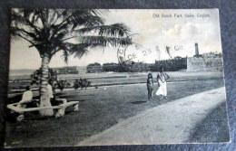CPA Animée - Old Dutch Fort - Galle - Ceylon - 1924 - Sri Lanka (Ceylon)