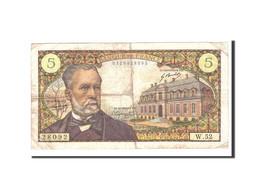 France, 5 Francs, 1967, 1967-05-05, KM:146b, TB+, Fayette:F61.5 - 5 F 1966-1970 ''Pasteur''