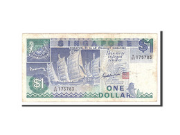 Singapour, 1 Dollar, 1987, Undated, KM:18a, TB+ - Singapour