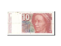 Suisse, 10 Franken, 1979, KM:53a, Undated, TB+ - Switzerland