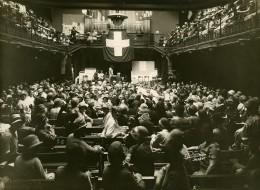 Suisse Geneve Congrés Feministe Ancienne Photo Jullien 1930's - Anonymous Persons