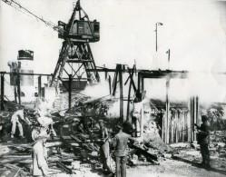 France Brest Catastrophe Explosion Port Ancienne Photo 1947 - Places