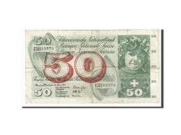 Suisse, 50 Franken, 1954-1961, KM:48c, 1963-03-28, TB - Switzerland