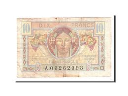 France, 10 Francs, 1947, Undated, KM:M7a, TB, Fayette:30.31 - Treasury
