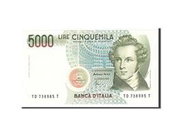 Italie, 5000 Lire, 1985, KM:111c, 1985-01-04, NEUF - [ 2] 1946-… : République