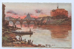 Castel S. Angelo E S. Pietro, Roma - Roma (Rome)