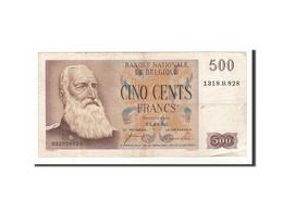 Belgique, 500 Francs, 1953, KM:130a, 1953-08-24, TTB - [ 2] 1831-... : Reino De Bélgica