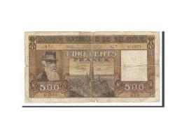 Belgique, 500 Francs, 1945, KM:127a, 1945-02-17, TB - [ 2] 1831-... : Reino De Bélgica