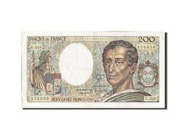 France, 200 Francs, 200 F 1981-1994 ''Montesquieu'', 1984, 1984, KM:155a, TB+... - 200 F 1981-1994 ''Montesquieu''