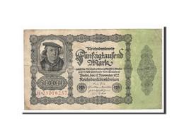 Allemagne, 50,000 Mark, 1922, KM:79, 1922-11-19, TB+ - [ 3] 1918-1933 : Weimar Republic