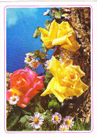 BIGLIETTO AUGURI - FIORI - Flowers