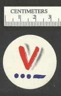 94-48 USA V For Victory Circular Label MNH - Erinnofilia