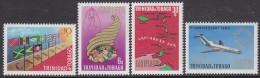 TRINIDAD, 1969 CARIFTA 4 MNH - Trinidad Y Tobago (1962-...)