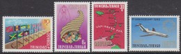 TRINIDAD, 1969 CARIFTA 4 MNH - Trinité & Tobago (1962-...)