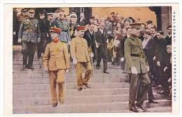 Japan Prince Hirohito State Visit To Belgium(?), Royalty Japan Belgium, C1920s Vintage Postcard - Familles Royales