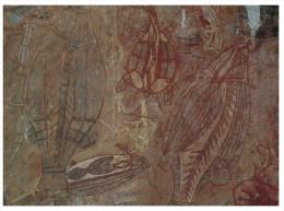 (75) Australia - NT - Aboriginal Rock Painting - Aborigènes