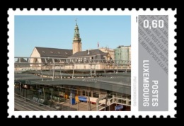 Luxembourg (Meng Post) 2012 No. 27 Central Railway Station MNH ** - Luxembourg