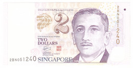 Singapour, 2 Dollars, 1999, Undated, KM:38, NEUF - Singapore