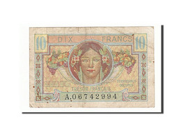 France, 10 Francs, 1947, Undated, KM:M7a, TB+, Fayette:VF30.1 - Tesoro