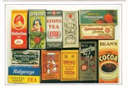 TEA And COCOA -  'Carton Through The Ages' - England - Reclame