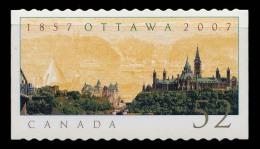 Canada (Scott No.2214 - OTTAWA) [**] De Carnet / From Booklet - Auto-collant / Self Adhesive - 1952-.... Reinado De Elizabeth II