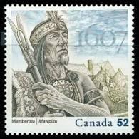 Canada (Scott No.2226 - Chef Membertou / Chief Membertou)+ [**] - 1952-.... Reign Of Elizabeth II