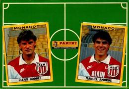 FOOTBALL 88..PANINI..GLENN HODDLE..MANUEL AMOROS...CPM - Soccer