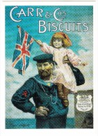 CARR'S Biscuits  - Carr & Co's - England - Reclame