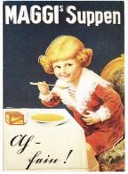 MAGGI'S  Suppen - Maggi Werbung Von 1920 - Reclame