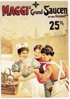 MAGGI´S  Grund-Saucen Mit Dem Kreuzstern  25 Pfg. - Reclame