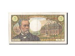 France, 5 Francs, 5 F 1966-1970 ''Pasteur'', 1968, 1968-04-04, KM:146b, TB+,... - 1962-1997 ''Francs''