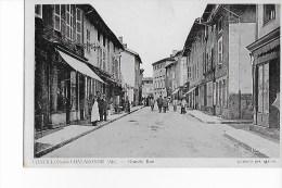 01 -  CPA  De  CHATILLON  Sur  CHALARONNE  - Grande  Rue   (  Très  Très  Animée ) - Châtillon-sur-Chalaronne
