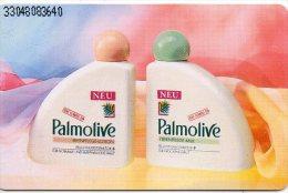Cosmétique Cosmetic Beauté Schampoing Crème Palmolive  Télécarte Allemagne Phonecard Telefonkarte  J 783 - Parfum