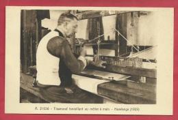 Havelange - Tisserand Travaillant Au Métier à Main - 1929 ( Voir Verso ) - Havelange