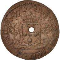 Pays-Bas, Token, Spanish Netherlands, Charles II, Bruxelles, 1681, TTB+, Cuivre - Pays-Bas