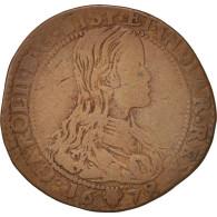 Pays-Bas, Token, Charles II, Bruxelles, Bureau Des Finances, Spanish Netherlands - Pays-Bas