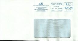 Lettre Entiere  EMA Centaure  Histoire Mythologie Cavalier Cheval 21 Nuits St George  B/311 - Poststempel (Briefe)
