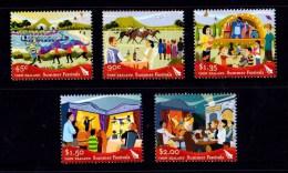 New Zealand 2006 Summer Festivals Set Of 5 MNH - Ongebruikt