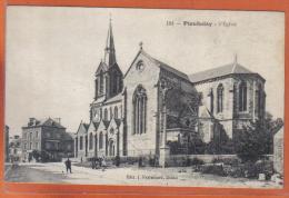 Carte Postale 22. Ploubalay  L'église  Trés  Beau Plan - France