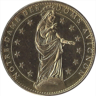 S06B108 - 2006 CATHEDRALE DES DOMS 2 - La Vierge / ARTHUS BERTRAND - Arthus Bertrand