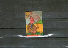 YAOURTS LA ROCHE AUX FEES: Casimir - Image Lenticulaire N°10. - Publicité