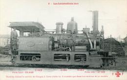 TRAIN(LOCOMOTIVE) LIVRY GARGAN - Treinen