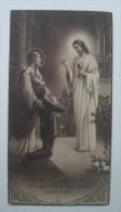 IMAGE PIEUSE BOUASSE Pl 1502 D´après Etienne Azambre (chromo Vers 1930) : LA COMMUNION AVEC SAINT JOSEPH SANTINO - Images Religieuses