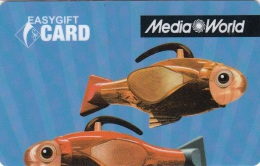 Gift Card Italy Media World - 003b - Fish - Gift Cards